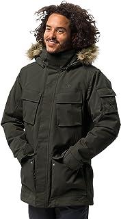 Jack Wolfskin Men's Glacier Canyon Parka Waterproof Insulated Field Jacket