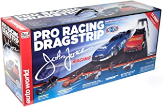 Auto World NHRA John Force Drag 1:64 Scale Slot Car Set
