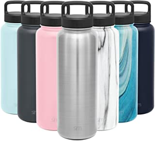 Best Simple Modern Water Bottle , 40oz Lid, Simple Stainless Review