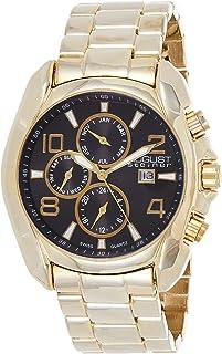 August Steiner Men's Endeavor Analogue Display Swiss Quartz Watch