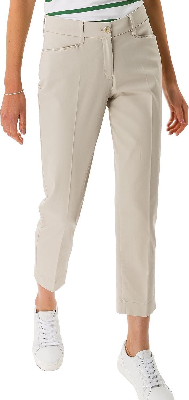 BRAX Pantalon Femme Beige