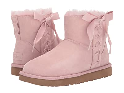 UGG Classic Lace Mini (Pink Crystal) Women