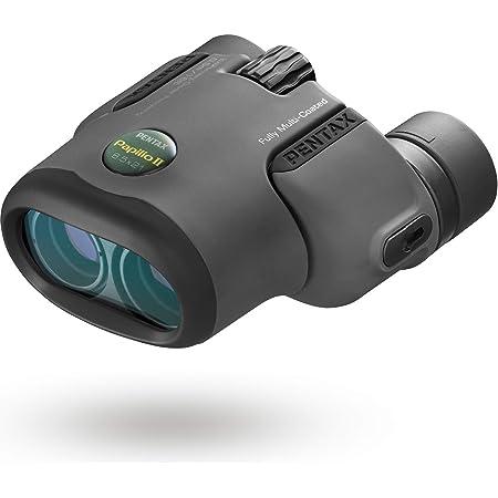 PENTAX 双眼鏡 PAPILIOII6.5×21 最短50cmでピントが合う単眼鏡としても使える2way双眼鏡 美術館 フルマルチコーティング 高級プリズムBak4搭載 (6.5倍) メーカー保証1年 ペンタックス 62001