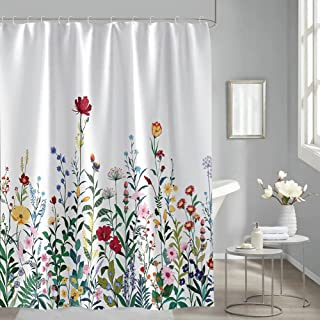 Details about  /Colorful Lines Design Modern Bathroom Fabric Polyester Shower Curtain 2s275