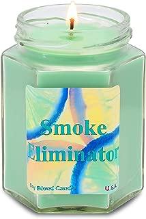 Smoke Eliminator Soy Candle | Tobacco Cannabis |