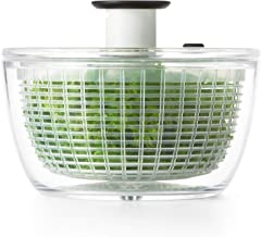 OXO Good Grips Little Salad & Herb Spinner, Clear (1045409BL) Small