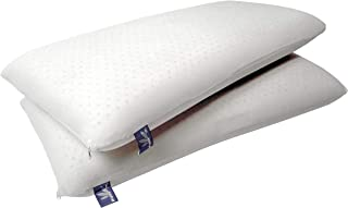 Vytex Cloud Pillow 100% Natural Latex Soft Plush Collection The Only Virtually Allergy Free Latex Soft Medium Plush Standard 16 X 24 Inches Equivilent to 19 ILD with Cotton Zip Up Cover