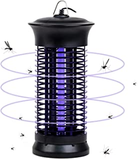 Jundo Portable Electric Mosquito Fly Killer Light, Measures Hanging and Fixed Dual-Use Portable Home/Hotel/Shop/Outdoor Ac...