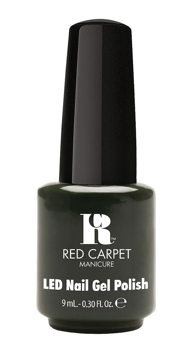 骨髄砲兵大胆なRed Carpet Manicure - LED Nail Gel Polish - Diva in Disguise - 0.3oz/9ml