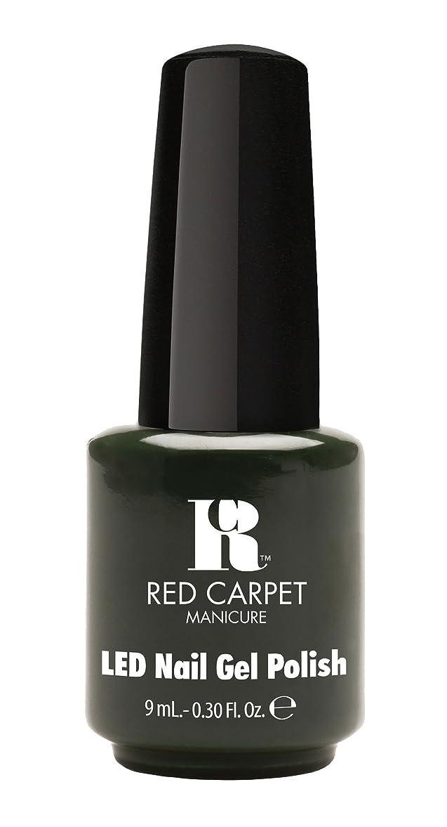 生きる無駄だとらえどころのないRed Carpet Manicure - LED Nail Gel Polish - Diva in Disguise - 0.3oz/9ml