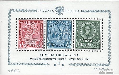 bajo precio Prophila Collection Polonia Bloque 9 (completa.edición.) (completa.edición.) (completa.edición.) 1946 educación (sellos para los coleccionistas)  Envíos y devoluciones gratis.