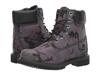 Timberland 6 Premium Boot (Black Camo Iridescent) Women