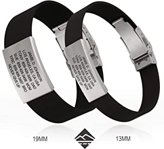 child id bracelet stainless steel