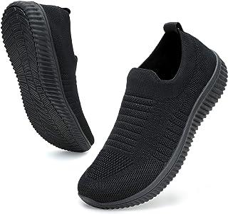 ZHR Zapatillas de tenis de malla transpirable para mujer