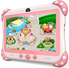 Kids Tablet 7 inch Tablet for Kids WiFi Kids Tablets 32G Android 10 Dual Camera Educational Games Parental Control, Toddle...