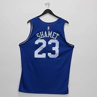 b464f79fcf2 Landry Shamet Philadelphia 76ers Practice-Used #23 Reversible Jersey from  the 2018-19