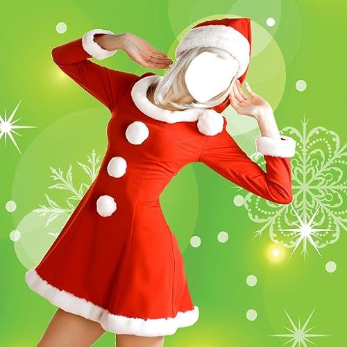 Robe de Noël Photo Montage