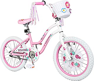 Princess Kids Bike 12 14 16 18 Inch Boys Girls Bike with Training Wheels Kids Bicycle for Toddlers and Children