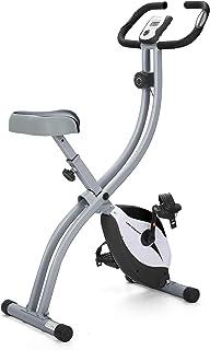Ultrasport Unisex F-Bike Advanced Exercise Bike, Display LCD, Home Trainer Pieghevole, Livelli di Resistenza Regolabili, c...