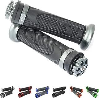 Colore antracite Xtreme CBX 600//650 SW-T 400//600 Manopole manubrio in alluminio Honda VT 600 C Shadow Manopole XL 600 CB 650 CNC
