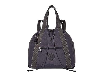 Kipling Art Medium Tote Backpack (Night Grey) Backpack Bags
