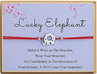 Good Luck Hosreshoe Charm Bracelet Handmade Red Cord Ajustable Bracelet Horse Lover Gift