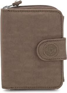 Kipling New Money Small Credit Card Wallet Soft Earthy Beige Tonal