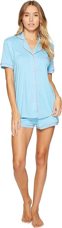 Bella S/S Top & Boxer Pajama Set