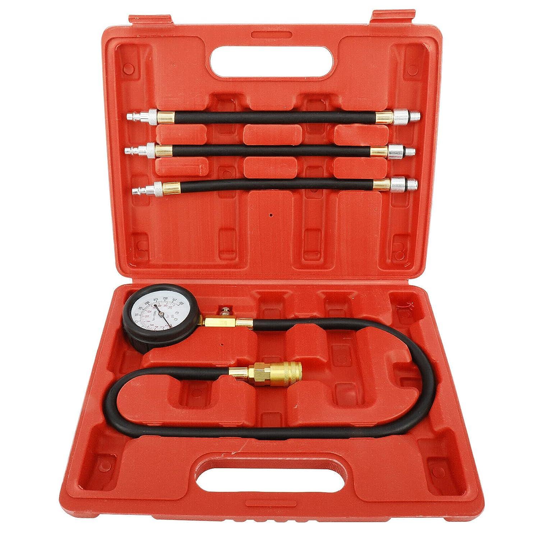 8MILELAKE Engine Cylinders Diagnostic Tester Compression Gauge T