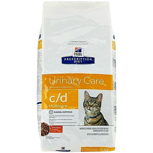 Hills Prescription Diet c/d Feline Urinary Tract Multicare, Chicken - 17.6lb