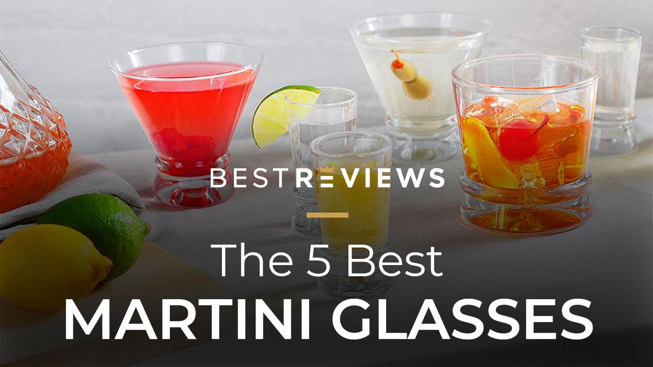 Circleware 55517 Event Glasses Set of 4 10 oz Martini