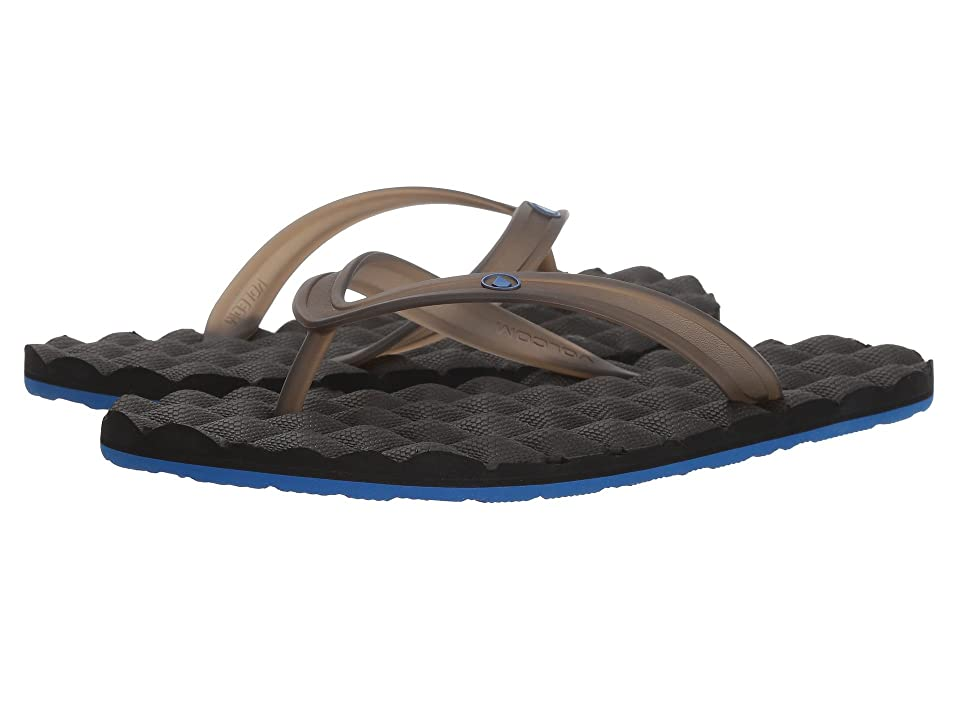 Volcom Recliner Rubber 2 Sandal (Blue/Black) Men