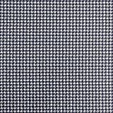 Baumwollstoff Popeline kleines Hahnentritt marine weiß -