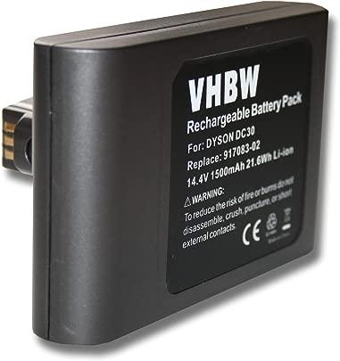 vhbw Li-Ion Akku 1500mAh 14 4V f r Saugroboter Home Cleaner Heimroboter Dyson DC30 Schätzpreis : 32,99 €