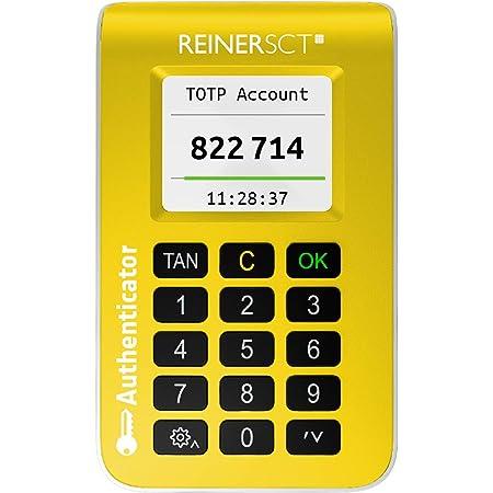 REINER SCT Authenticator – Hardware für Zwei-Faktor-Authentisierung | TOTP-Generator für ultimativen Schutz Ihrer Accounts
