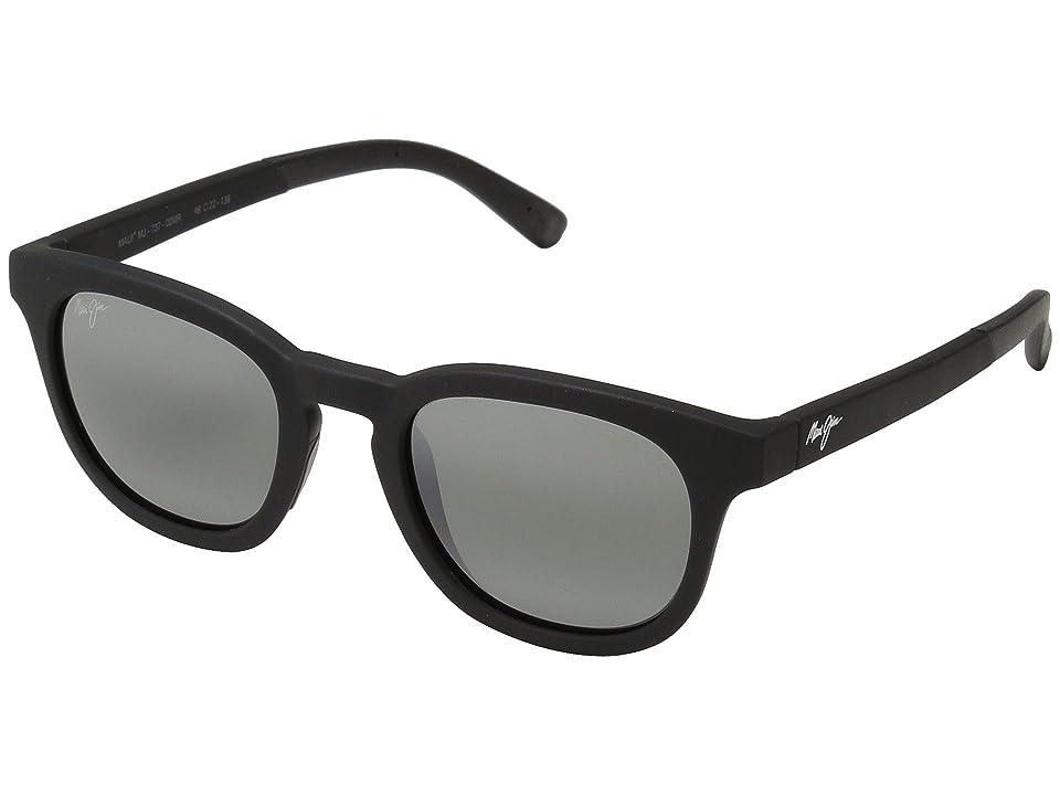 Maui Jim Koko Head (Matte Black/Neutral Grey) Sport Sunglasses