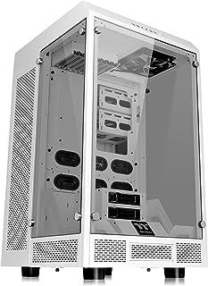 Thermaltake The Tower 900 Snow Edition Carcasa de Ordenador Full-Tower Blanco - Caja de Ordenador (Full-Tower, PC, SGCC, Vidrio Templado, ATX,EATX,Micro-ATX,Mini-ITX, Blanco, Hogar/Oficina)
