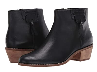Cole Haan Joanna Bootie 45 mm (Black Tumbled Leather) Women