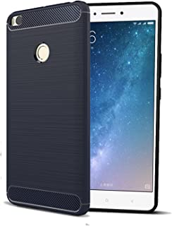 CELLBELL Rugged Armor Back Cover for Xiaomi Mi Max 2 (Midnight Black)
