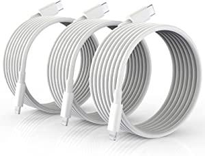 USB C to Lightning Cable 10FT 3Pack, ?Apple MFi Certified? iPhone Fast Charger Cable, USB-C to Lightning Charging Cord for iPhone 13/13 Pro/13Pro Max/ 12 Mini/12/12 Pro/11/11 Pro/XS/Xr/X