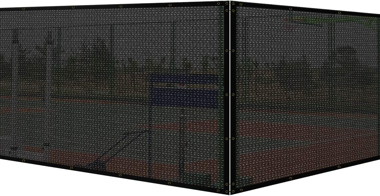 New Shipping Free COARBOR 8'x110' Vinyl Coated Polyester Fence Mesh Privacy Limited price PVC