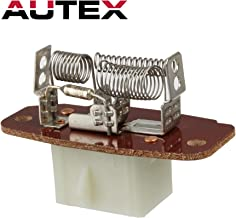 AUTEX Manual HVAC Blower Motor Resistor 4C2Z19A706AA 973-013 Compatible with Ford E150 E250 E350 E450 Van F250 F350 Super Duty Truck 99-07 Replacement for Ford Excursion F150 Truck 00-03