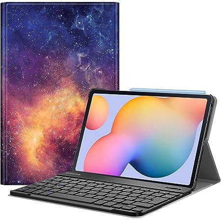 FINTIE Funda con Teclado Español Ñ para Samsung Galaxy Tab S6 Lite 10.4