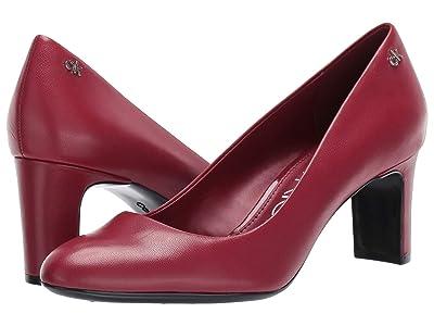 Calvin Klein Oska (Barn Red Leather) Women