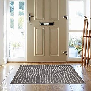 """HEBE Indoor Outdoor Doormat 24""""x36"""" Front Door Mat Non Slip Super Absorbent Mud Mat Entrance Way Door Rug Welcome Shoe Mat..."""