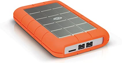 LaCie Rugged Triple 2TB External Hard Drive Portable HDD – USB 3.0 FireWire 800 compatible for Mac and PC Computer Desktop Workstation Laptop (LAC9000448)