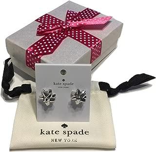 Kate Spade Bourgeois Bow Stud Earrings, Silvertone