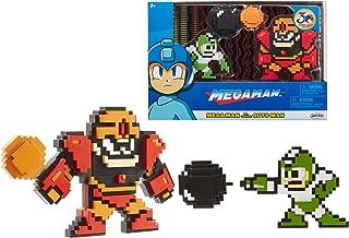 MegaMan Classic 8-Bit Figure 2-Pack (Mega Man Vs. Guts Man)
