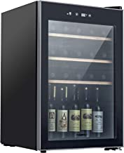 KUPPET Compressor 36 Bottle Wine Cooler, Counter Top Wine Cellar/Chiller, Wine Refrigerator Single Zone with Touch Control...
