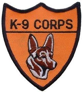 EagleEmblems PM0175 Patch-K-9 Corps (3.25'')